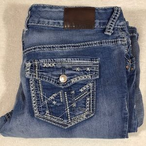 Maurice's Button fly bootcut jean size 7/8
